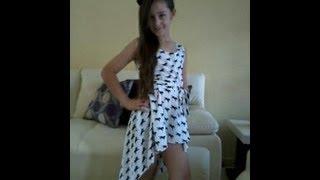 Vestido De Moda Sencillo  DIY  Simple Fashion Dress -Jazmin Gastelum