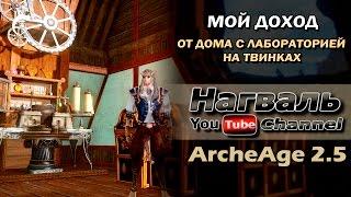 ArcheAge 4.5   СКОЛЬКО МОЖНО ЗАРАБОТАТЬ НА РЫБАЛКЕ В 4.5