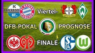 FIFA 18 DFB-Pokal Prognose Viertelfinale 14-Finale 20172018 Deutsch HD