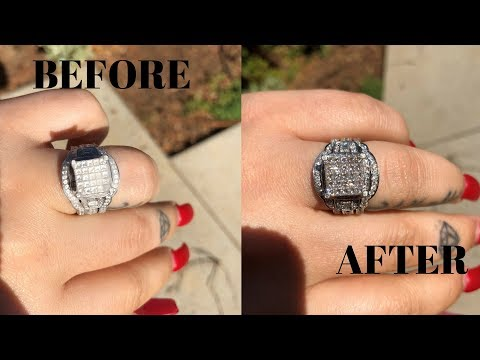 How To Make Your Wedding Ring Look Brand New Again and Sparkling!