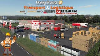 Transport & Logistique - Case France NSO | Réseau Pro - Farming Simulator 19