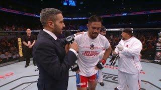 Mark Munoz gives touching UFC retirement speech