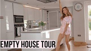 EMPTY HOUSE TOUR | Moving Vlog