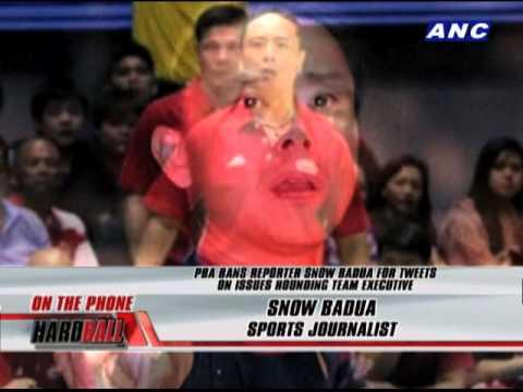 Badua, Narvasa speak up on PBA ban