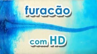 Furacão com HD (AGITADOR MAGNÉTICO CASEIRO) (EXPERIÊNCIA)