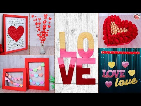 10 DIY Projects for Valentines Day! Room Decor Idea