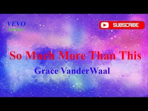 So Much More Than This - Grace VanderWaal Karaoke (Karaoke Version)