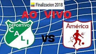 Deportivo Cali 1 VS 0 America de Cali en vivo - Finalizacion 2018
