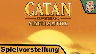 Скачать Catan Städte Ritter Erweiterung Die Siedler Von Catan Spielvorstellung Und Regeln