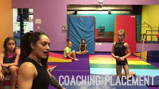 Gymnastics Coaching Placement 101