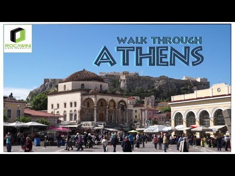 Athens : Walk through Athens.