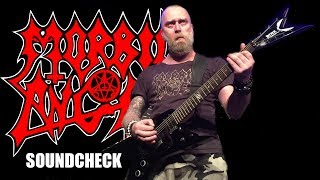MORBID ANGEL (Brutal Soundcheck) LIVE Copenhagen 16th December 2014