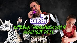Twitch Highlight: Highlight Reel October and November 2019