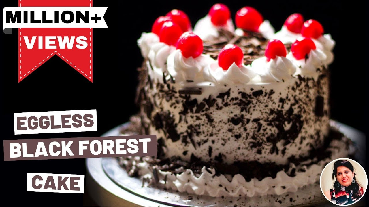 Black Forest Cake In Pressure Cooker Without Oven ब्लैक