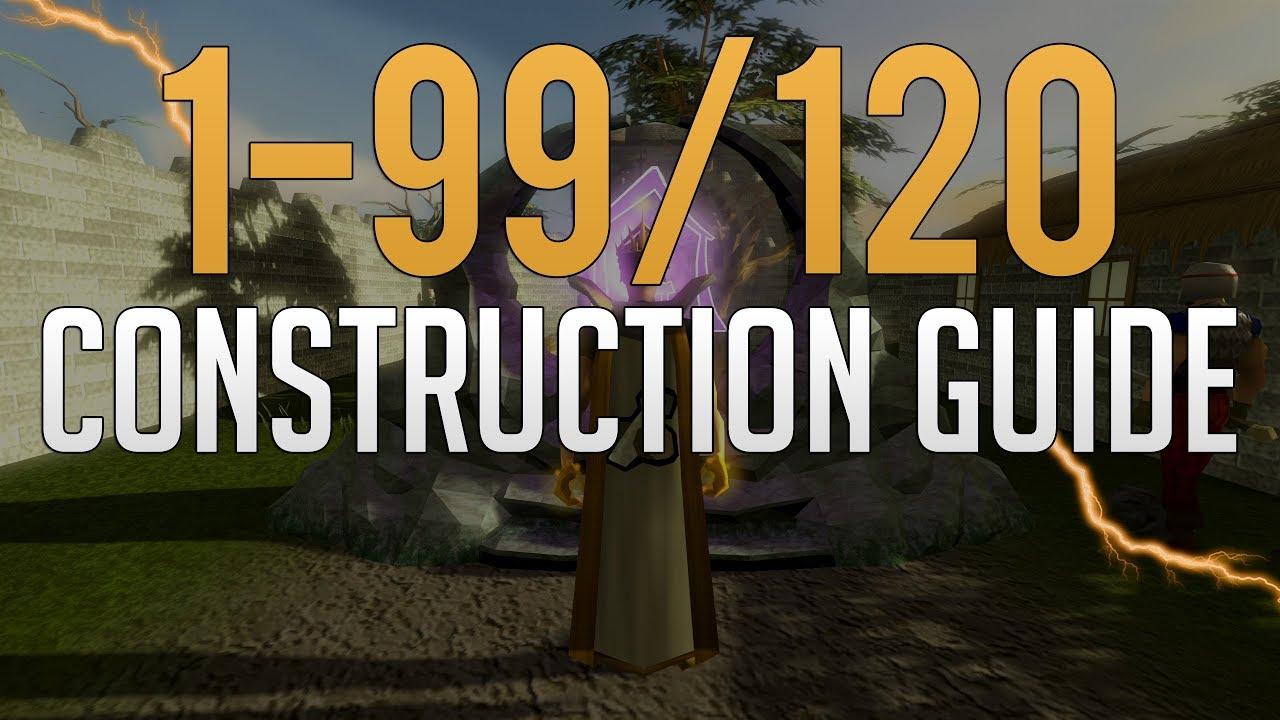 Runescape 99 construction guide | levelskip.