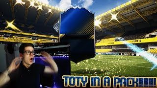 FIFA 17: OMFG TEAM OF THE YEAR IN A PACK!!! (DEUTSCH) - ULTIMATE TEAM - BEAST TOTY PACK OPENING!