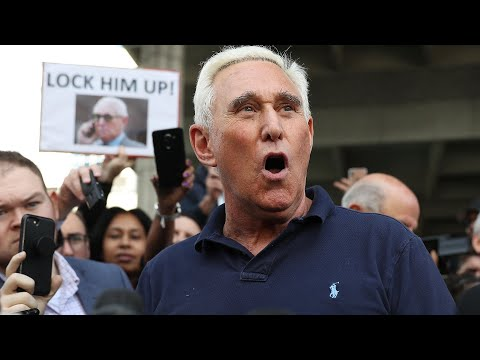 Roger Stone denies charges in Russia investigation