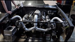 THE SICKEST G BODY TWIN TURBO KIT IS DONE!!!!!!!