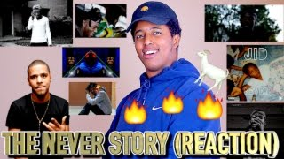 J.COLE'S artist J.I.D - THE NEVER STORY (REACTION)