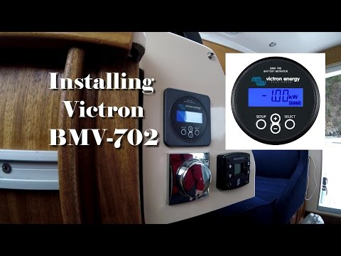 Installing a Victron battery monitor in a boat to monitor 2x115a and 1x140a