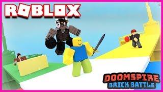 WHAT THE DELAS! Roblox Doomspire Brickbattle