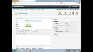 видео Instalar el Componente XMap en Joomla 3.x | Joomla