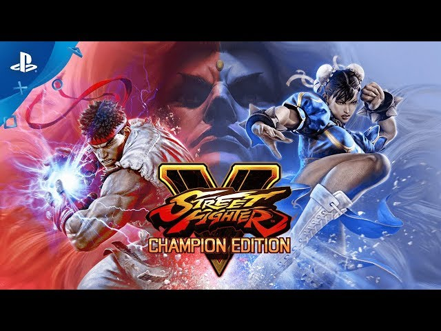 Street Fighter V: Champion Edition - Reveal Trailer | PS4