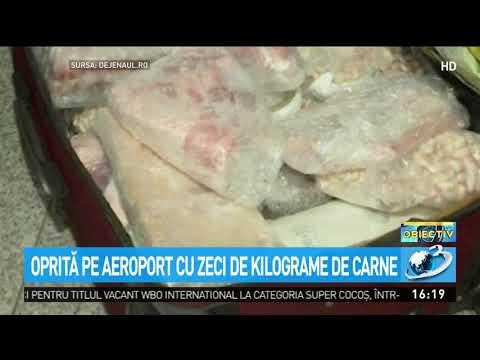 Captură de miel pe aeroportul din Cluj. Carnea, găsită în bagajul unei femei care se ducea în I