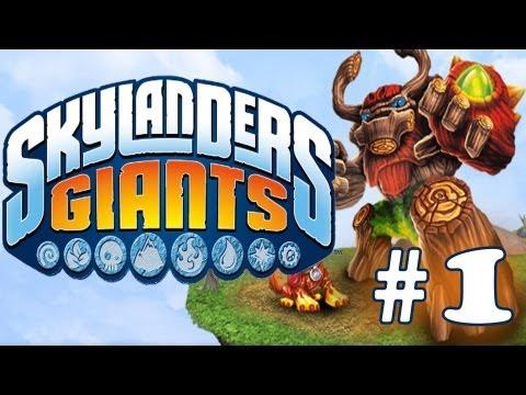 SKYLANDERS GIANTS WALKTHROUGH - PART 1 - Time of the Giants