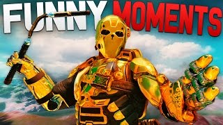 Black Ops 3 Funny Moments - Epic Ninja Defuse, Body Glitch, Taunts