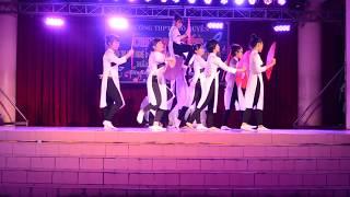 Thư Pháp | Tiết mục múa quạt chung kết văn nghệ THPT Ngô Quyền 2015-2016