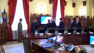 Sedinta CSAT din 17 septembrie. Ultimele imagini cu Victor Ponta inainte de trimiterea in judecata