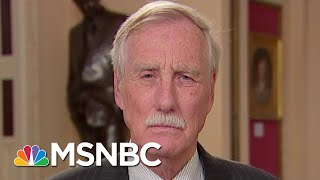 Angus King On Trump impeachment: This Is More Serious Than I Thought | The 11th Hour | MSNBC
