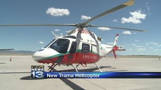 UNM Hospital launches new helicopter