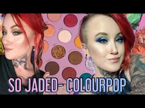 So Jaded Kathleen lights/Colourpop Palette- 2 LOOKS & REVIEW thumbnail