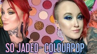 So Jaded Kathleen lights/Colourpop Palette- 2 LOOKS & REVIEW