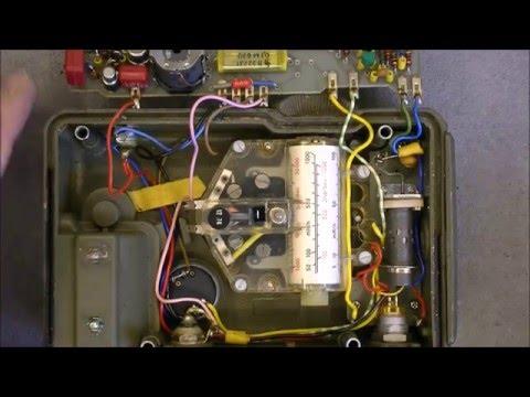 Vintage Graetz X50 geiger counter teardown
