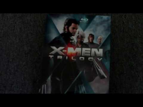 X-Men Trilogy (X-Men, X2, X-Men: The Last Stand) and Sin City Blu-Ray Cases and Unboxing