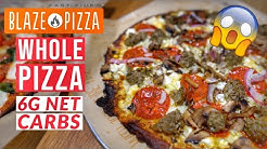 Blaze Pizza Keto Crust Review & Nutrition 🍕