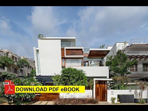 3,430 sq. ft. Floating Walls House in Bengaluru, Karnataka by Crest Architects