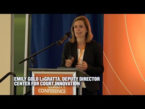 Video of Emily Gold LaGratta presentation at Call for Clarity