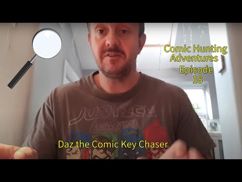 Dazzie's Comic Book Hunting 15 - Worcester Comic Con '19!