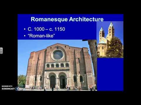 Medieval Architecture: Romanesque vs. Gothic