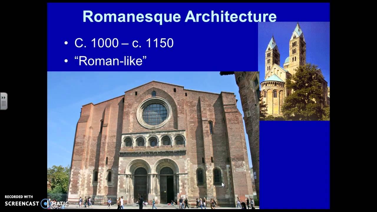 Medieval Architecture Romanesque Vs Gothic