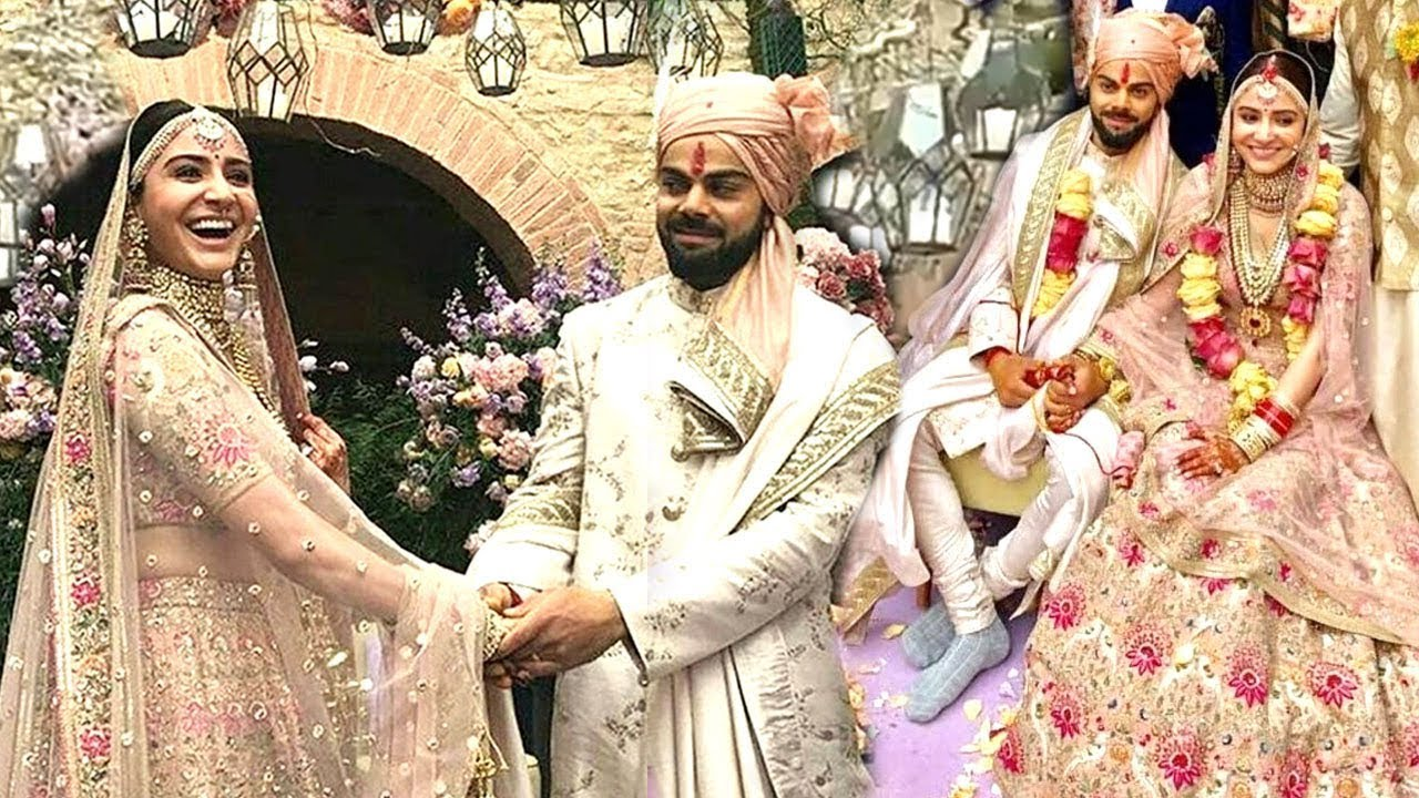 Virat kohli anushka sharmas cute wedding moments will melt your virat kohli anushka sharmas cute wedding moments will melt your heart junglespirit Gallery