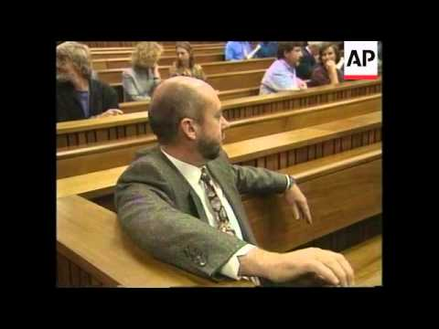 SOUTH AFRICA: PRETORIA: DOCTOR WOUTER BASSON TRIAL