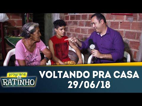 Voltando Pra Casa | Programa Do Ratinho (29/06/18)