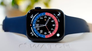 Blue Apple Watch Series 6 Unboxing & Setup