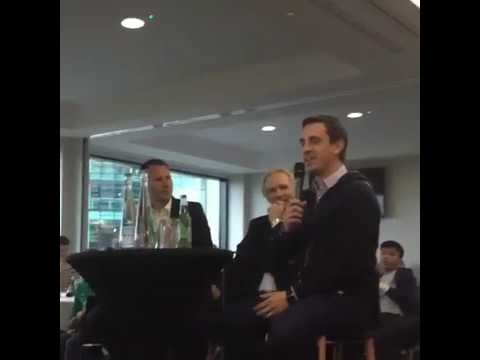 Gary Neville on the funniest chant opposition fans sang at him