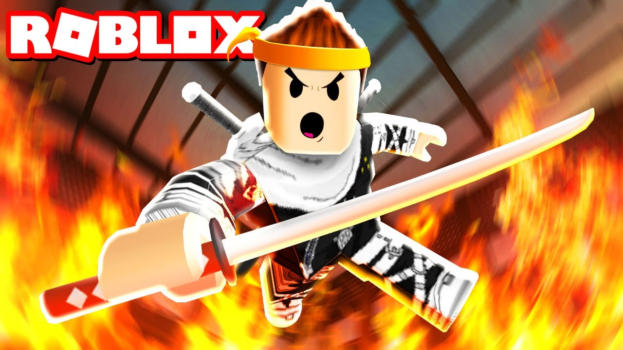 Ninja Training Obby In Roblox Youtube